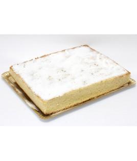 Sheet of almond cake