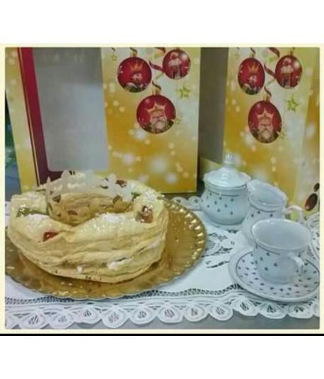Roscón de Reyes (Hojaldre)