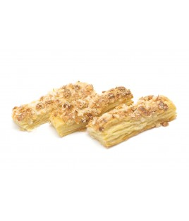 Puff pastry and almond tongues